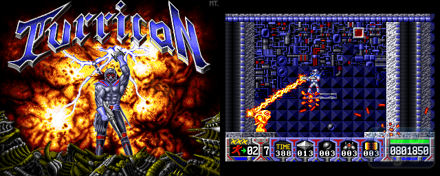 Turrican - Double Barrel Screenshot
