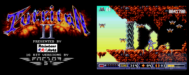 Turrican II: The Final Fight - Double Barrel Screenshot