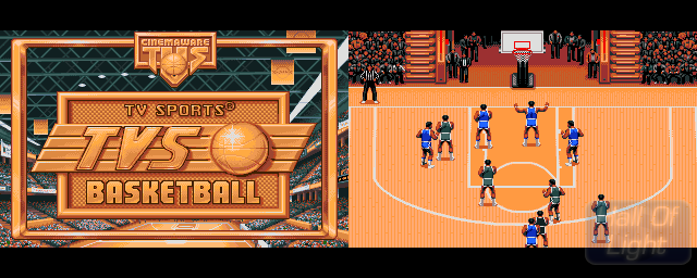 TV Sports: Basketball - Double Barrel Screenshot