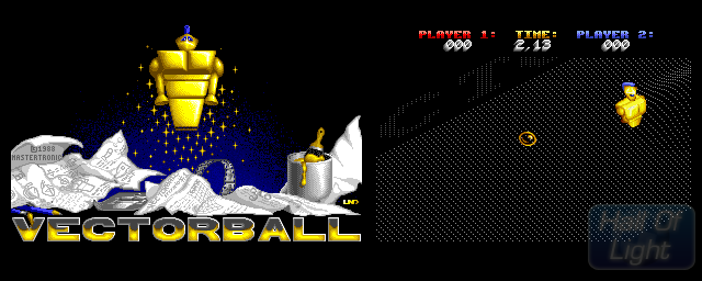 Vectorball - Double Barrel Screenshot