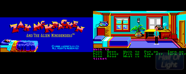Zak McKracken And The Alien Mindbenders - Double Barrel Screenshot