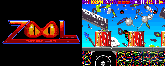 Zool: Ninja Of The ''Nth'' Dimension - Double Barrel Screenshot