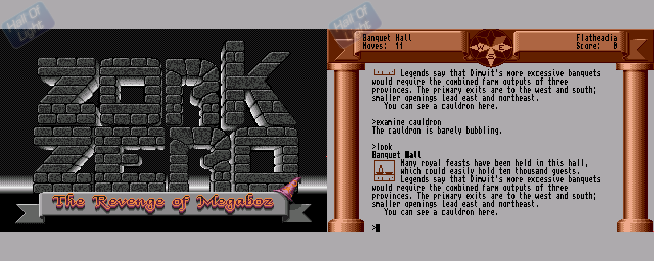 Zork Zero: The Revenge Of Megaboz - Double Barrel Screenshot