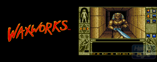 Waxworks - Double Barrel Screenshot