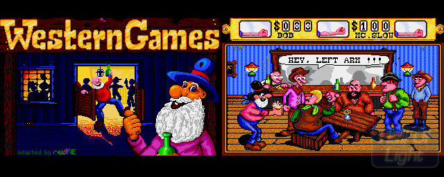 Western Games - Double Barrel Screenshot