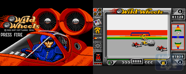 Wild Wheels - Double Barrel Screenshot