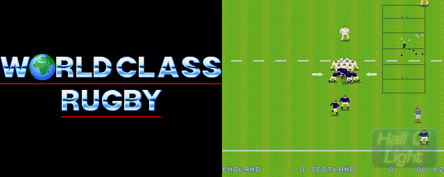 World Class Rugby - Double Barrel Screenshot