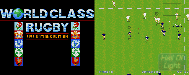 World Class Rugby: Five Nations Edition - Double Barrel Screenshot