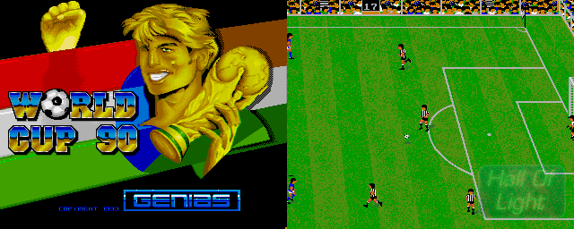World Cup 90 - Double Barrel Screenshot