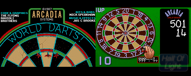World Darts - Double Barrel Screenshot