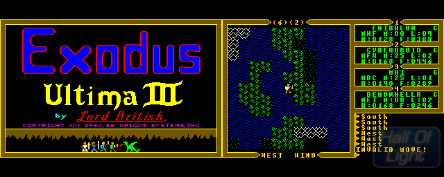 Ultima III: Exodus - Double Barrel Screenshot