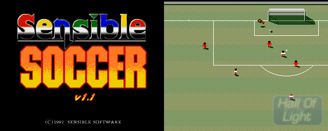 Sensible Soccer: European Champions v1.1 (92/93 Edition) - Double Barrel Screenshot