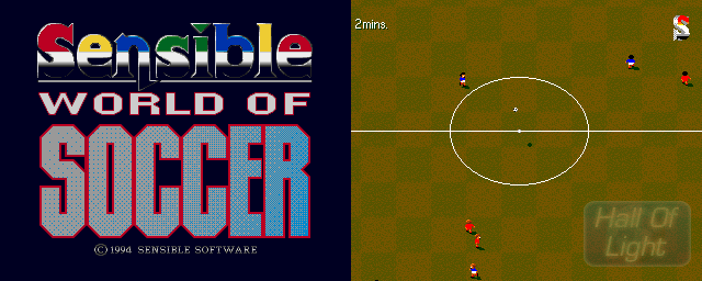 Sensible World Of Soccer - Double Barrel Screenshot