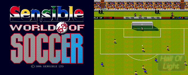 Sensible World Of Soccer 95/96 - Double Barrel Screenshot