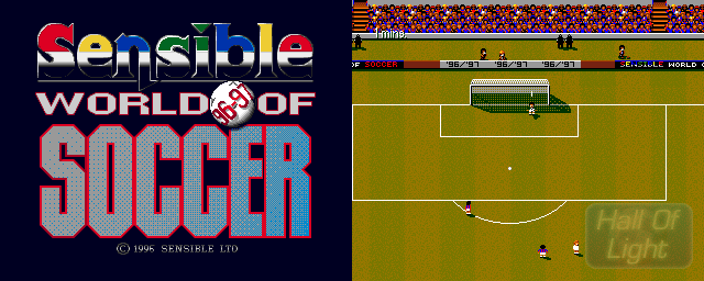 Sensible World Of Soccer '96/'97 - Double Barrel Screenshot