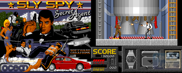 Sly Spy: Secret Agent - Double Barrel Screenshot