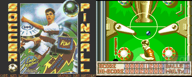 Soccer Pinball - Double Barrel Screenshot