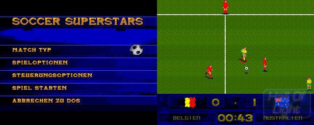 Soccer Superstars - Double Barrel Screenshot