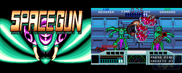 Space Gun - Double Barrel Screenshot