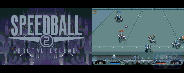 Speedball 2: Brutal Deluxe - Double Barrel Screenshot