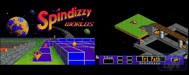 Spindizzy Worlds - Double Barrel Screenshot