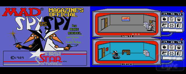 Spy Vs Spy - Double Barrel Screenshot