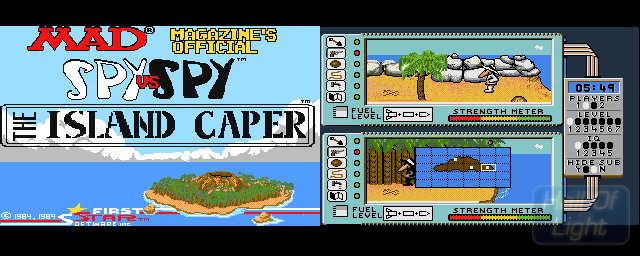 Spy Vs Spy 2: The Island Caper - Double Barrel Screenshot
