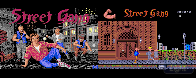 Street Gang - Double Barrel Screenshot