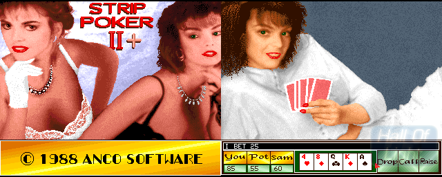 Strip Poker II+ - Double Barrel Screenshot