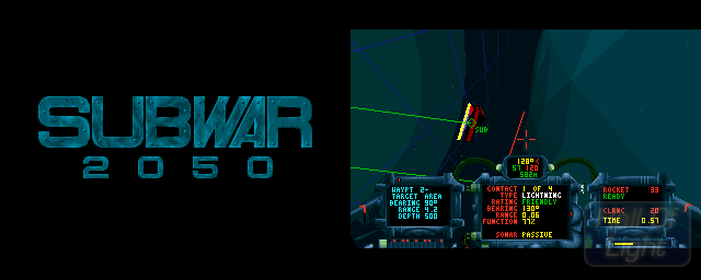 Subwar 2050 - Double Barrel Screenshot