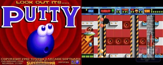 Super Putty - Double Barrel Screenshot