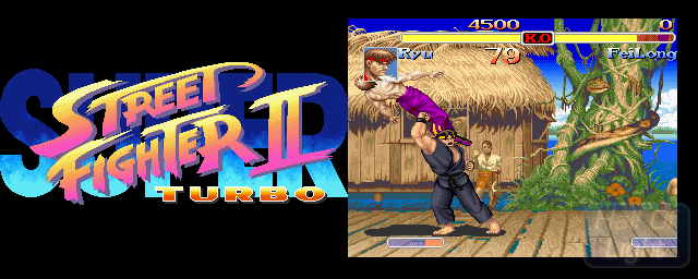 Super Street Fighter II Turbo - Double Barrel Screenshot