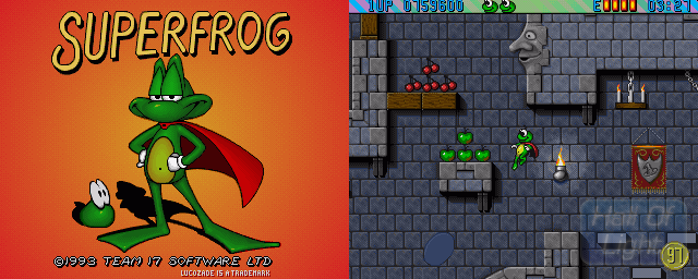 Superfrog - Double Barrel Screenshot
