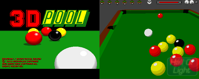 3D Pool - Double Barrel Screenshot