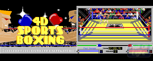 4D Sports Boxing - Double Barrel Screenshot