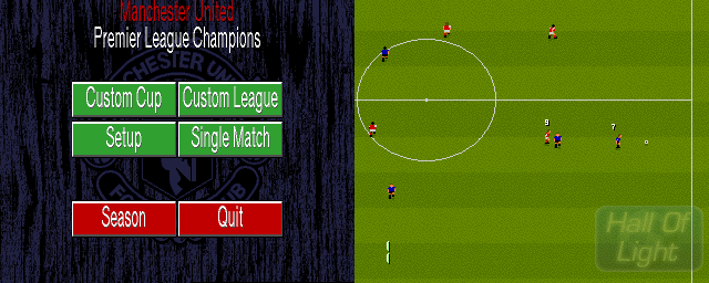 Manchester United: Premier League Champions - Double Barrel Screenshot