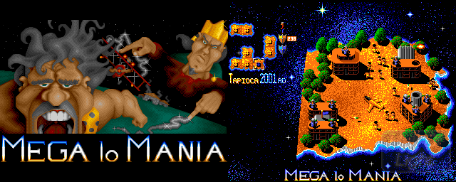 Mega Lo Mania - Double Barrel Screenshot