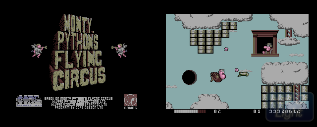 Monty Python's Flying Circus - Double Barrel Screenshot