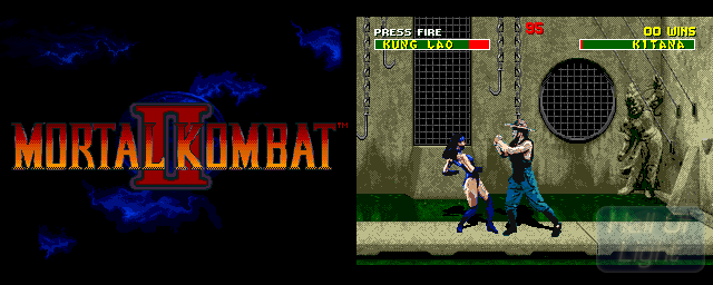 Mortal Kombat II - Double Barrel Screenshot