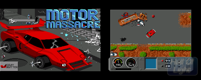 Motor Massacre - Double Barrel Screenshot