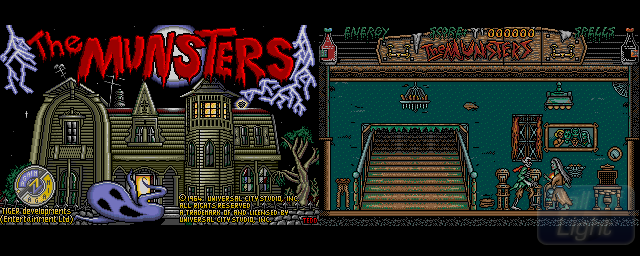 Munsters, The - Double Barrel Screenshot