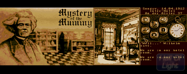Mystery Of The Mummy - Double Barrel Screenshot