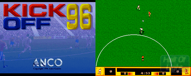 Kick Off 96 - Double Barrel Screenshot