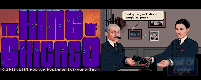 King Of Chicago, The - Double Barrel Screenshot