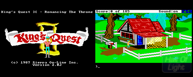 King's Quest II: Romancing The Throne - Double Barrel Screenshot