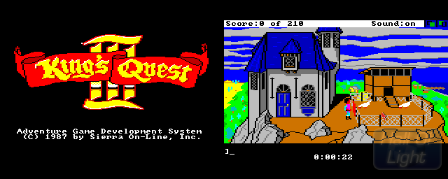King's Quest III: To Heir Is Human - Double Barrel Screenshot