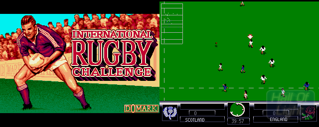 International Rugby Challenge - Double Barrel Screenshot