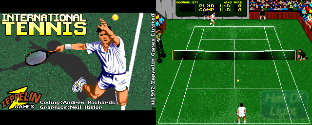 International Tennis - Double Barrel Screenshot