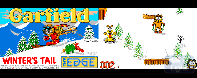 Garfield: Winter's Tail - Double Barrel Screenshot