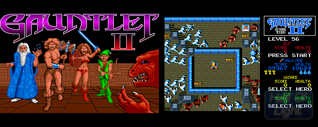 Gauntlet II - Double Barrel Screenshot